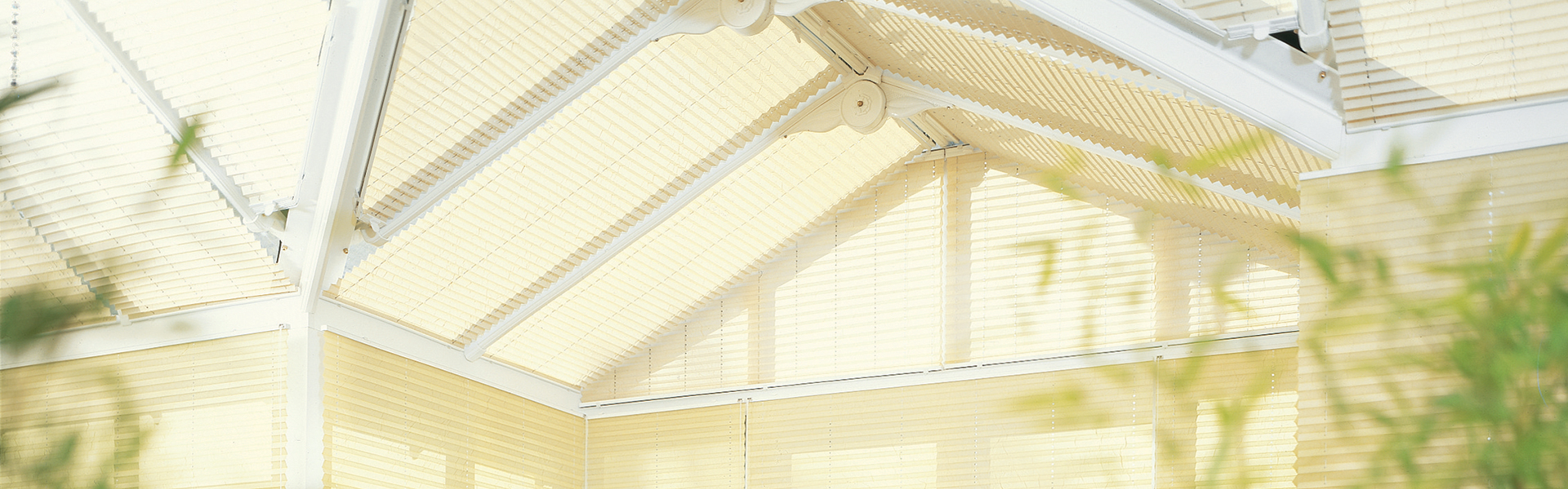 Conservatory Roof Blinds Preston Made To Measure Blinds