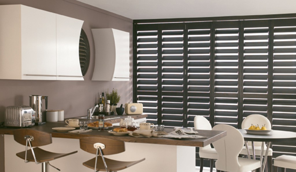 black wooden blinds. Black Wooden Shutters Blinds