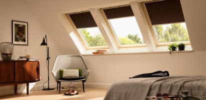 VELUX Blinds - Bedroom