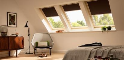 VELUX Blinds - Bedroom