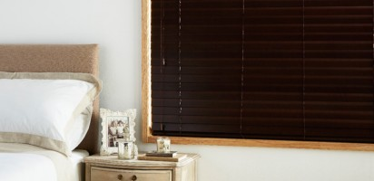 Woodweave Dark Walnut Blinds