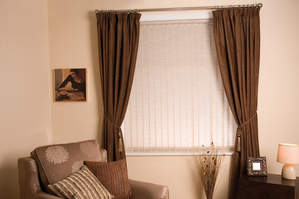 Vertical Blinds Preston Vertical Window Blind At Red